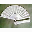 """Fanoušci a slunečníky-# Piece / Set Ruční ventilátor Zahradní motiv Bílá 42 cmx23 cmx1 cm (16 1 / 2""""x9""""x 3 / 4"""")2,4 cmx23 cmx1 cm (1""""x9""""x"""