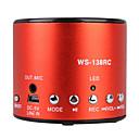 hot nahrávání mini reproduktor s USB vstupem (fm radio, přenosný reproduktor)