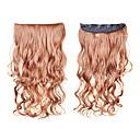 Vlasové příčesky s 5 spínkami - 6 barev