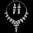"šperky bílá perla dvě dámy kus fantazie ""set (45 cm)"