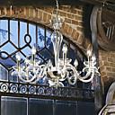 moderni svijeća sadržanu kristalne lustere sa 8 svjetla prozirnim bojama