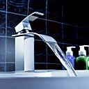 Sprinkle® 浴室用水栓  ,  コンテンポラリー  with  クロム シングルレバー 一つ  ,  特徴  for 滝状吐水タイプ / センターセットタイプ