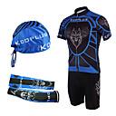 KOOPLUS® Biciklistička majica s kratkim tregericama Muškarci Kratki rukav BiciklProzračnost / Quick dry / Ultraviolet Resistant / Prednji