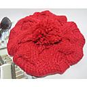 ženske modne lijep jednobojnu pleteni šešir (opseg 56-58cm)