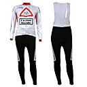 KOOPLUS® Biciklistička majica s tregericama Muškarci Dugi rukav BiciklProzračnost / Ugrijati / Podstava od flisa / Ultraviolet Resistant