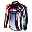 NUCKILY® Biciklistička majica Muškarci Dugi rukav Bicikl Ugrijati / Quick dry / Ultraviolet Resistant Majice 100% poliester / Runo Dungi