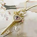 Náhrdelníky Náhrdelníky s přívěšky Šperky Heart Shape Srdce Slitina Dámské Dárek Zlatá