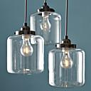 40 Privjesak Svjetla ,  Traditional/Classic Vintage Electroplated svojstvo for Mini Style Metal Living Room Dining Room