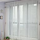 neoklasicistički dvije ploče cvjetni botanički bijela spavaća poliestera obična zavjesa nijanse