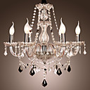 20-60W Chandelier ,  Rustic/Lodge Others Feature for Crystal Glass Living Room / Bedroom