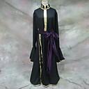 Inspirovaný Saint Seiya Hades Anime Cosplay kostýmy Cosplay šaty Jednobarevné Czarny Dlouhé rukávy Kabát / Pásek