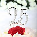 Figure za torte Non-personalizirane Krom Godišnjica / Rođendan Umjetno drago kamenje Pink Klasični Tema PVC vrećica