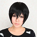 Cosplay Wigs DuRaRaRa Izaya Orihara Crna Short Anime Cosplay Wigs 30 CM Otporna na toplinu vlakna Male