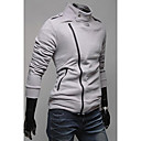 rrはスリムジャケットを群がっスリムスタンドカラー斜めジッパーを買う