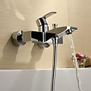 Sprinkle®浴槽用水栓  ,  コンテンポラリー  with  クロム シングルレバー 二つ  ,  特徴  for センターセットタイプ / 壁式