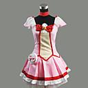 Inspirirana PrettyCure Cure Happy Anime Cosplay Kostimi Cosplay Suits / Dresses Kolaž Crvena Kratki rukavTop / Suknja / Okovratnik /