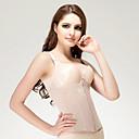 chinlon s výšivkou přední zip uzavření shapewear sexy prádlo shaper