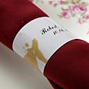 Personalized Paper Napkin Ring - Sakura (Set of 50)