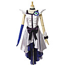 Inspirirana PrettyCure Cure Moonlight Anime Cosplay nošnje Cosplay Suits / Dresses Kolaž Bijela Bez rukavaHaljina / Headpiece / Ogrlice /