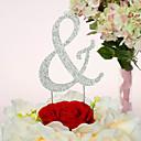 Figure za torte Non-personalizirane Krom Vjenčanje / Godišnjica / Sretan 16.! / Rođendan Umjetno drago kamenje Klasični Tema PVC vrećica