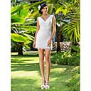 Lanting Bride® Pouzdrové Drobná / Nadměrné velikosti Svatební šaty - Elegantní & moderní / Okouzlující & dramatické / Šaty na hostinu