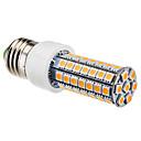 6W E26/E27 LEDコーン型電球 T 63 SMD 5050 550 lm 温白色 交流220から240 V