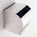 """トイレットペーパーホルダー ステンレス ウォールマウント 120 x 123 x 125mm (4.7 x 4.8 x 5"""") ステンレス モダン"""