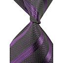 Čovjekove Moderan Classic Stripes protkani Silk Kravata