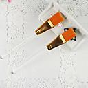 1KS Orange Nail Art Brush pro Velvet dekorace