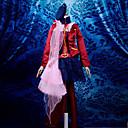 Inspirirana Macross Frontier Sheryl Nome Anime Cosplay Kostimi Cosplay Suits / Dresses Kolaž Crvena Dugi rukavPlašt / Bluza / Suknja /