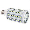 E27 15W 86x5050SMD 1200-1300LM 6000-6500K Přirozené bílé světlo LED žárovka kukuřice (110/220V)