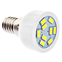 DAIWL E14 3W 9xSMD5630 240-270LM 5500-6500K Natural White Light LED Spot Bulb (220-240V)