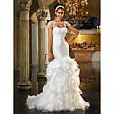 Lanting Bride® Haljina sa širokom suknjom Sitna / Veći brojevi Vjenčanica - Šik i moderno / Elegantno i luksuznoSvjetlucavo i blještavo /