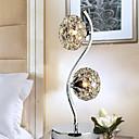 kreativní křišťálové stolní lampa s 2 světla 220-240V