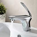 Sprinkle® 浴室用水栓  ,  コンテンポラリー  with  クロム シングルレバー 一つ  ,  特徴  for センターセットタイプ