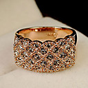 Prstenje Moda Party Jewelry Legura / Umjetno drago kamenje Žene Klasično prstenje 1pc,Univerzalna veličina Zlatna