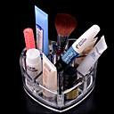 メイク用品収納 化粧品箱 / メイク用品収納 アクリル ゼブラプリント 11.5x9x5.7