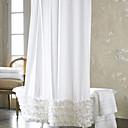 ヨーロッパスタイルのポリエステルシャワーカーテン