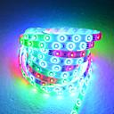 5M LED pásek světla v 54 vinutých perlí s dálkovým ovládáním a adaptérem