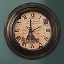 "13.5 ""H Retro Francouzská Metal Wall Clock"