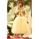 Ženska mreža Layer Midi suknja