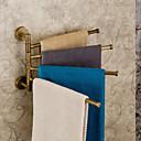 """タオルバー アンティークブロンズ ウォールマウント 320 x 2150 mm (12.6 x 8.46 """") 真鍮 アンティーク"""