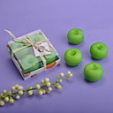 グリーンリンゴ☆キャンドル(4個セット)