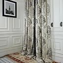 dva panely michelle luxury® rokoko slonová kost jacquard úspora energie opona splývavost