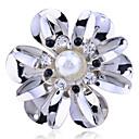 Prstýnky Párty / Denní / Ležérní Šperky Perly / Křišťál / Postříbřené Dámské Prsteny s kamenem 1ks,7