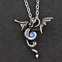 Šperky Gothic Lolita Náhrdelník Lolita Stříbrná / Modrá Lolita Příslušenství Náhrdelník Patchwork Pro Muži / DámskéSlitina / Umělé