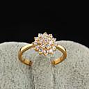 Yueli Dámské 18K Gold Zirkon prsten J1208