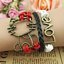 Náramky Náramky s přívěšky láska Jedinečný design Módní Vánoční dárky Šperky Dárek1ks