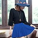 フォリクラシックソリッドカラー水玉スカート