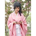 Inspirovaný Cosplay Chizuru Yukimura Video Hra Cosplay kostýmy Cosplay šaty / Kimono Jednobarevné Růžová Vrchní deska / Kalhoty / Pásek